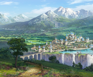castle, fantasy, and kingdom image