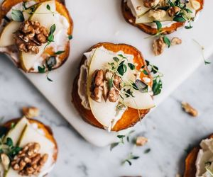 cheese, pear, and sweet potato image