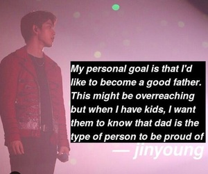 kpop, quotes, and jinyoung image