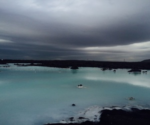 blue, blue lagoon, and iceland image