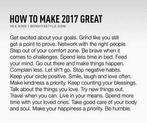 life, 2017, and goals image