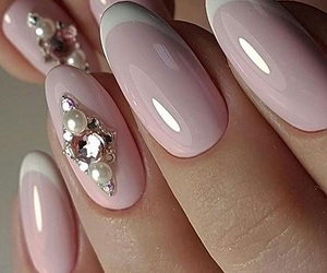 fashion, woman girl, and nail nails nailart image