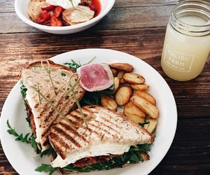 food, delicious, and lunch image