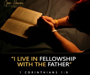 call, father and son, and prayer image
