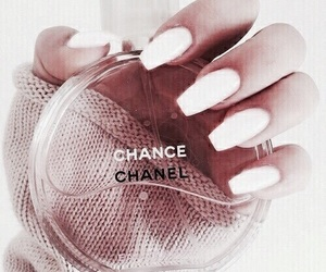 chanel, nails, and pink image