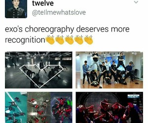 exo, growl, and kpop image