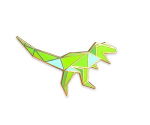 dinosaur, etsy, and geometric image