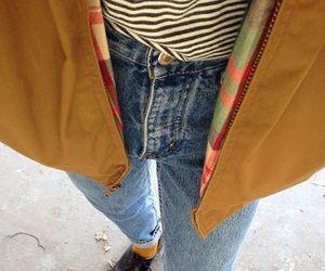 fashion, girl, and jacket image