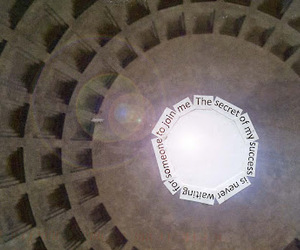 post secret and rome image