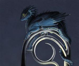 dragon, light, and dark image