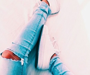 jeans and shoes image