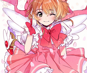 anime, anime girl, and sakura kinomoto image
