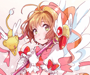 anime, sakura card captor, and anime girl image