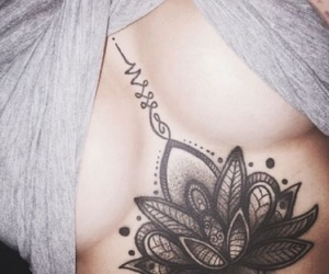 awesome, mandala, and under chest image