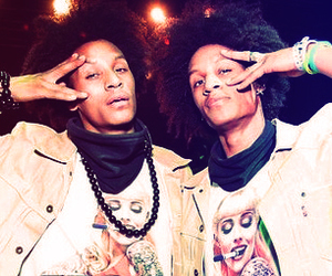 larry bourgeois, les twins, and laurent bourgeois image