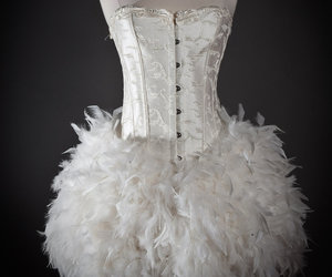bridal, burlesque, and corset image
