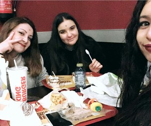 bffs, food, and bk image