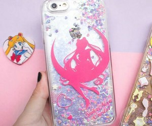 anime, apple, and case image