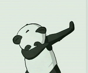 panda, dab, and wallpaper image