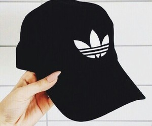 adidas, black, and nails image
