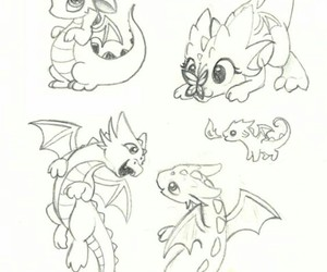 dragon and drawing image
