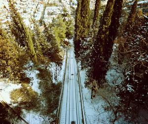 photography, railway, and tbilisi image