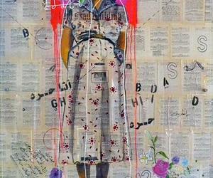 art, draw, and feminist image