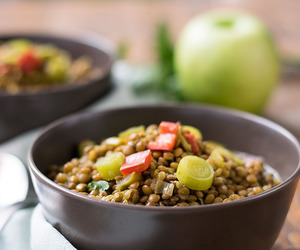 fiber, healthy, and soup image