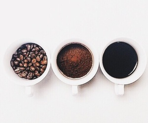 coffee, cup, and black image