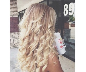 beautiful, hairgoals, and blonde image