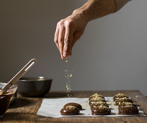 chocolate, Cookies, and dairyfree image
