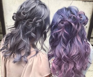 ash, blue, and curls image