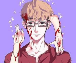 killing stalking, sangwoo, and manga image