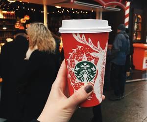 christmas, coffe, and dope image