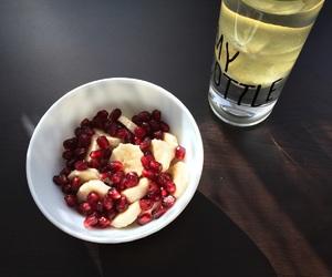 banana, breakfast, and drink image