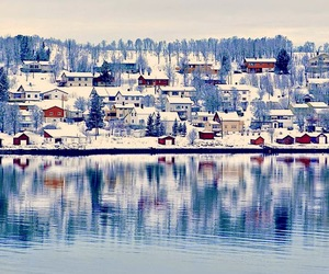winter, snow, and norway image