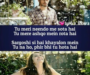 bollywood, Lyrics, and quotes image