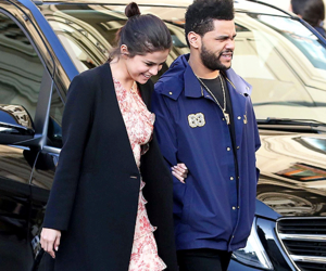selena gomez, the weeknd, and singer image