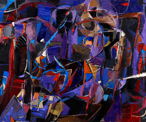 Abstract Painting, russian artist, and abstract painter image