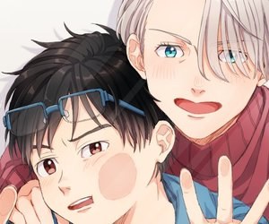 anime, yuri, and viktor image