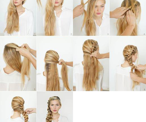 hairstyle, tutorials, and hairtutorials image