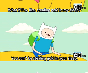 funny, JAKe, and adventure time image