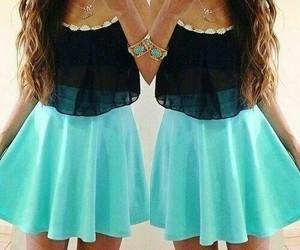black, glamour, and skirt image