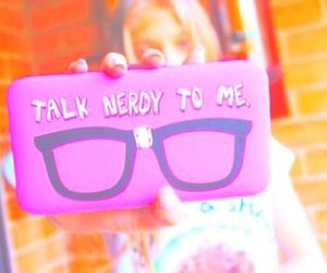 nerdy and pink image
