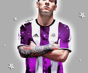 argentina, football, and leo messi image