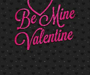 be mine, black, and pink image