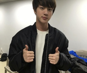 adorable, jin, and kpop image