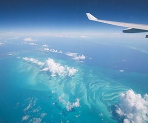 air plane, hawaii, and tropical image