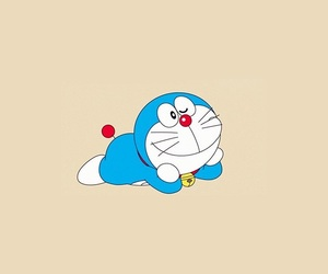 background, doraemon, and wallpaper image