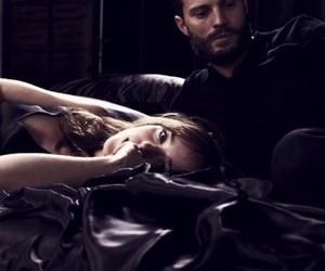 dakota johnson, Jamie Dornan, and fifty shades darker image